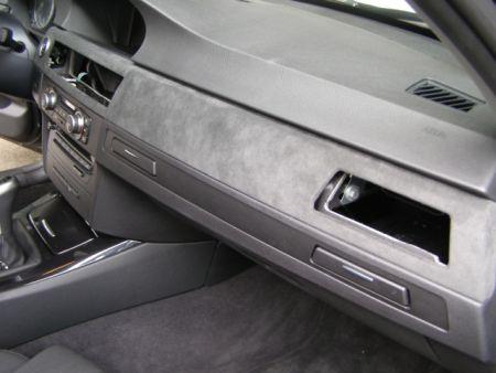 Raid alcantara interieur zierblendenset 6tlg bmw e90 e91 for Interieur tuning