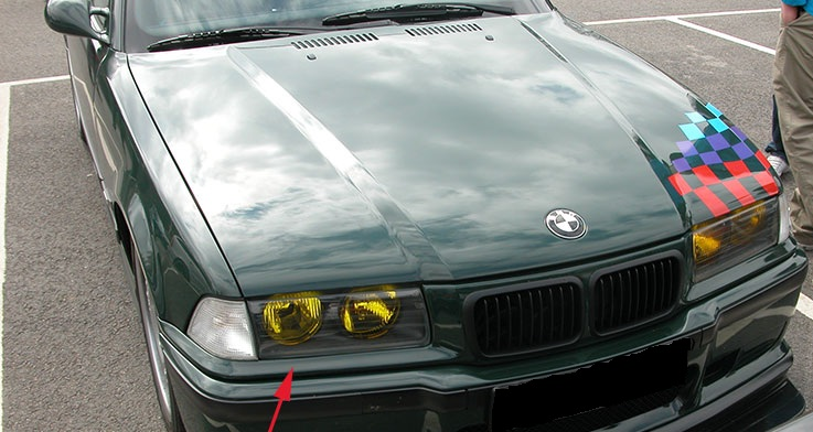 bosch streuscheibe h1 links gelb bmw 3er e36 alle nicht. Black Bedroom Furniture Sets. Home Design Ideas