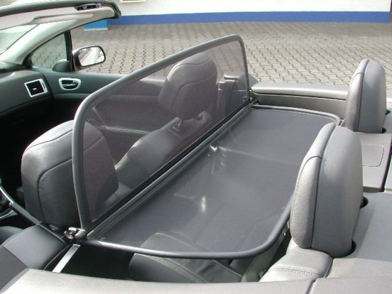 windschott passend f r peugeot 307 cc mit schnellverschlus neuware. Black Bedroom Furniture Sets. Home Design Ideas
