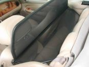 Windblocker black Jaguar XK 8 1996-2005