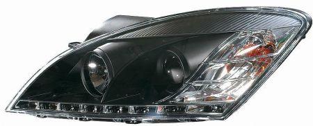 scheinwerfer dragon design klar schwarz kia ceed bj 06 09. Black Bedroom Furniture Sets. Home Design Ideas