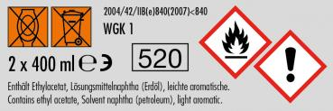 FoliaTec Sprüh Folie anthrazit metallik 2x400ml