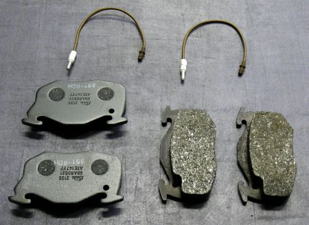 ATE brake pads front and back Peugeot/Renault