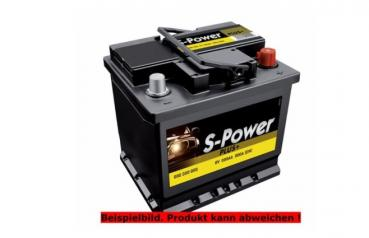 SPOWER Auto Batterie 53Ah