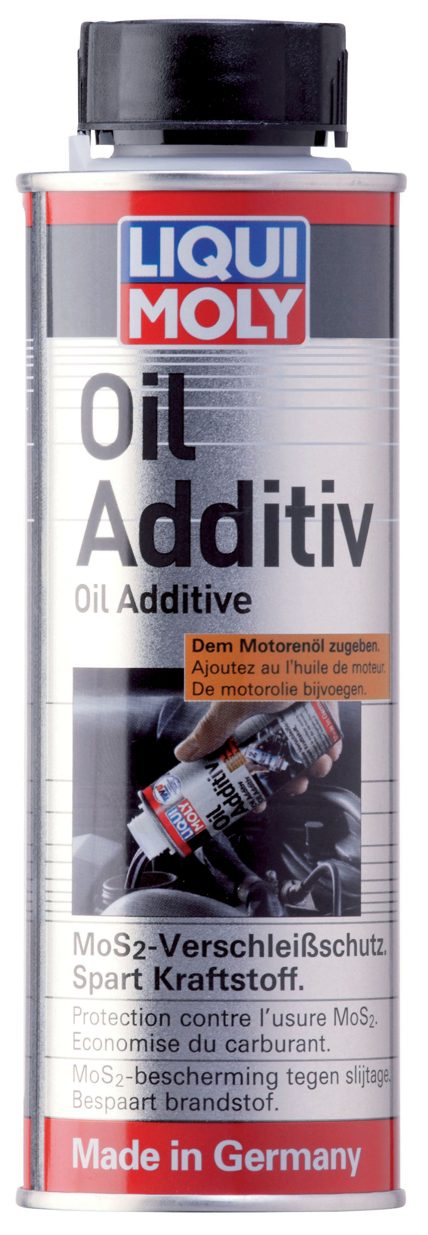 liqui moly oil additive mos 2 200ml fmw tuning autoteile. Black Bedroom Furniture Sets. Home Design Ideas
