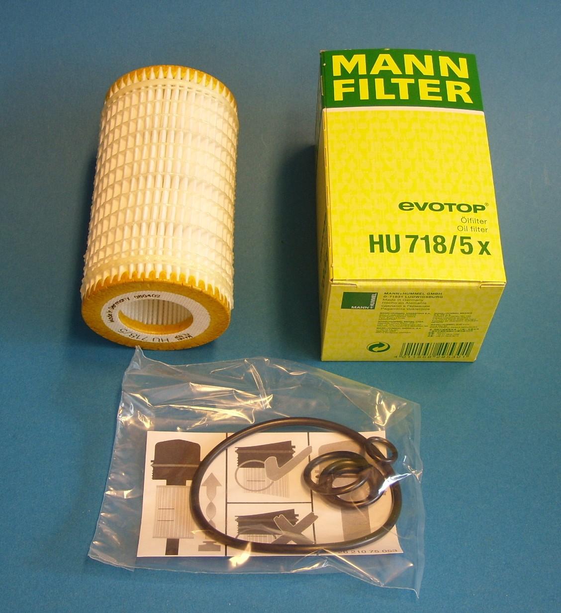 Chrysler Crossfire Srt 6 2004: MANN + Hummel HU 718/5X HU718/5X