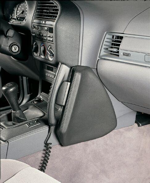Telephone Console Bmw 3er E36 Genuine Leather Black Fmw Tuning
