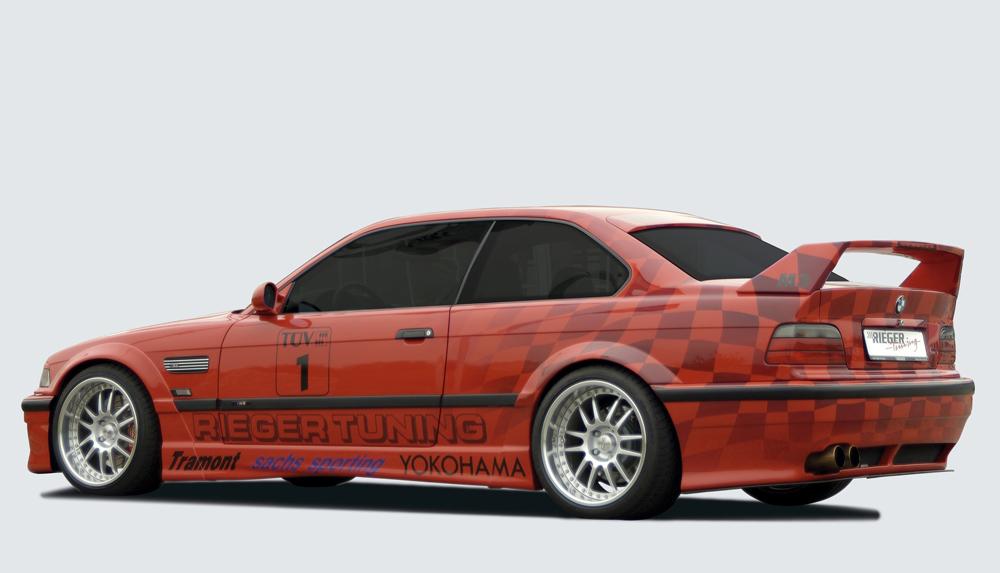 rieger 49044 heckfl gel breitbau ii bmw e36 coupe cabrio. Black Bedroom Furniture Sets. Home Design Ideas