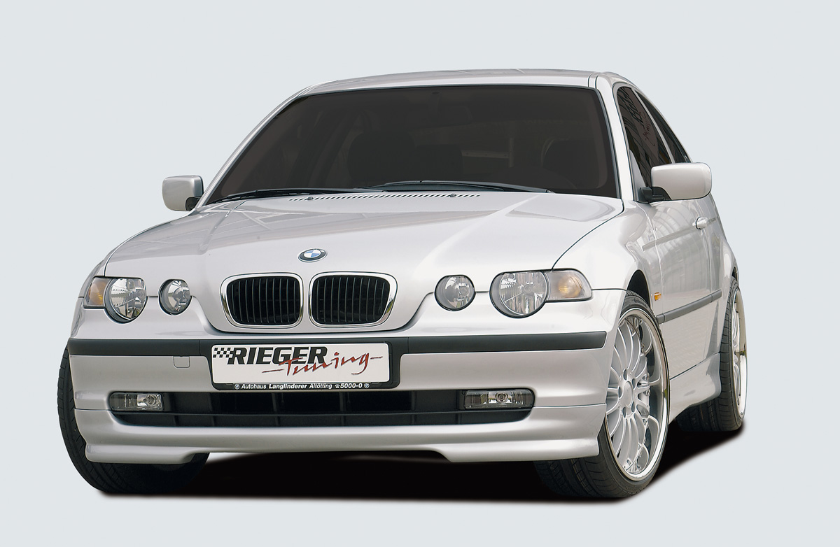 rieger 50301 rieger spoilerlippe bmw e46 compact fmw. Black Bedroom Furniture Sets. Home Design Ideas