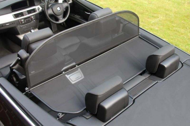 Windschott schwarz BMW 3er E93 alle Modelle - FMW Tuning ...