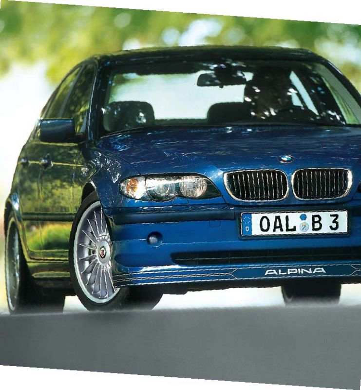 alpina 4100525 alpina frontspoiler typ 524 bmw 3er e46. Black Bedroom Furniture Sets. Home Design Ideas