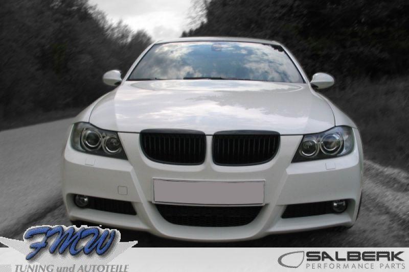 Shadowline shiny black kidneys BMW 3er E90/E91 vFL - FMW